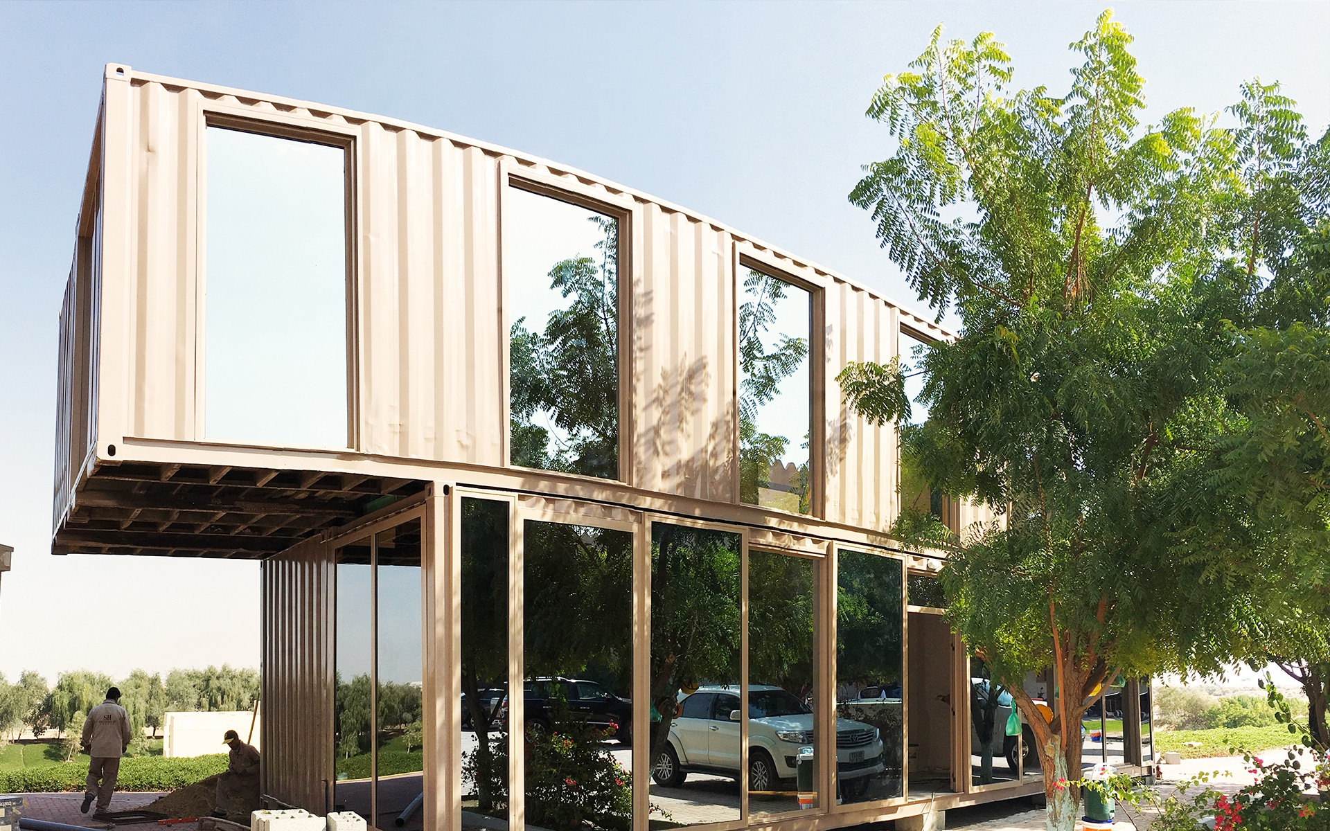 Container Office in Ajman by Qubes
