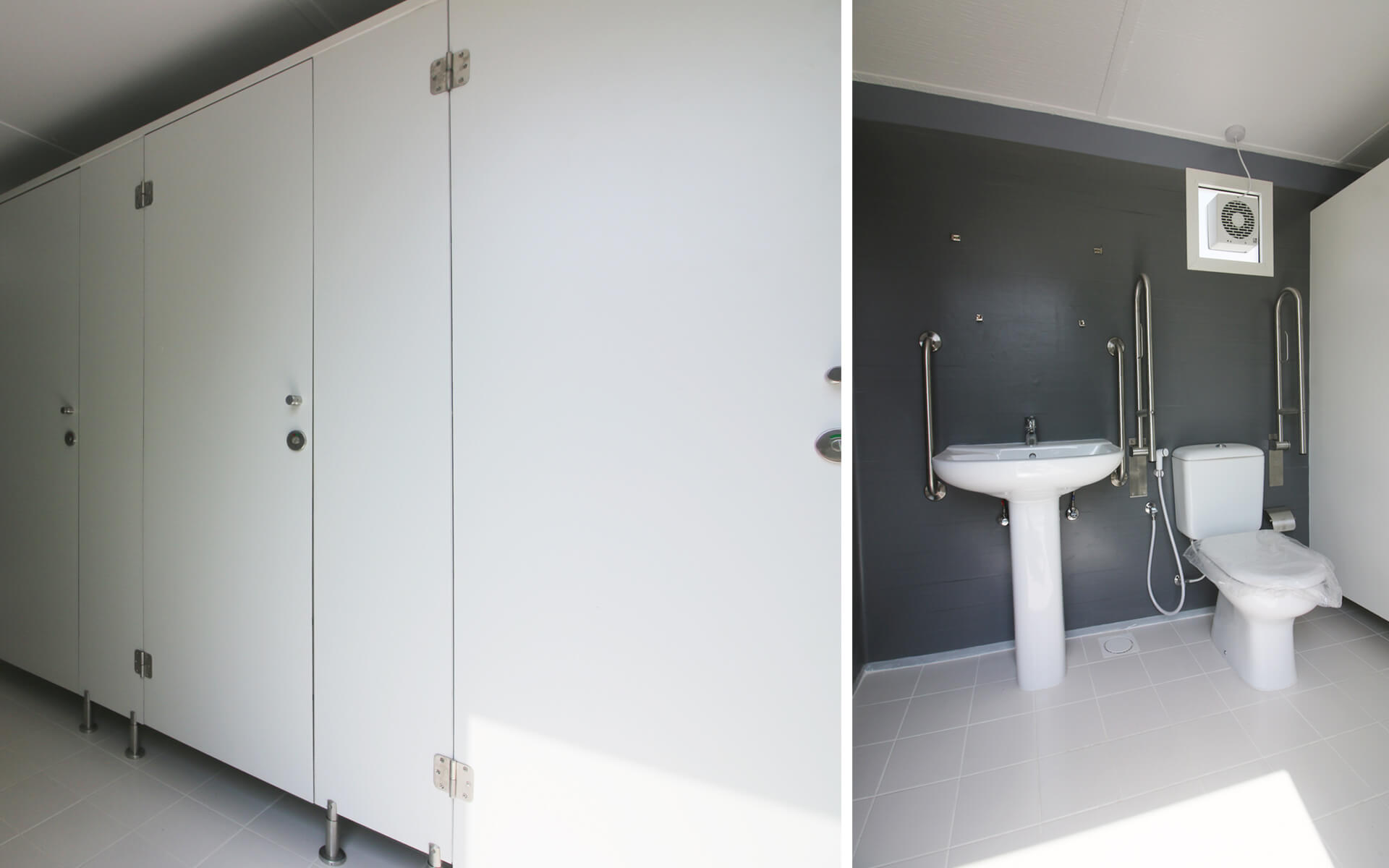 Container Toilet Unit By Qubes