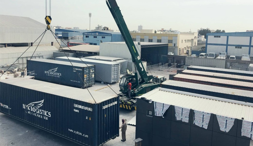 Container Trading and Container Storage By Qubes UAE